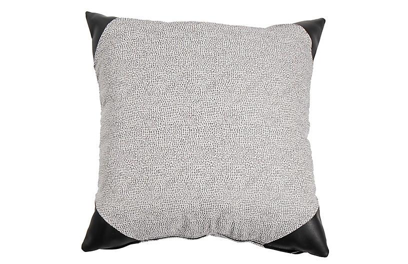 Siena Outdoor Pillow, Onyx Spot