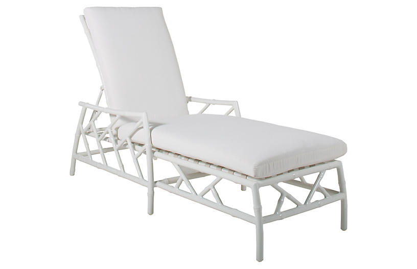 Kit Chaise Replacement Cushion, White