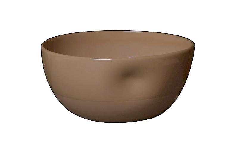 S/4 Unique Bowl, Latte