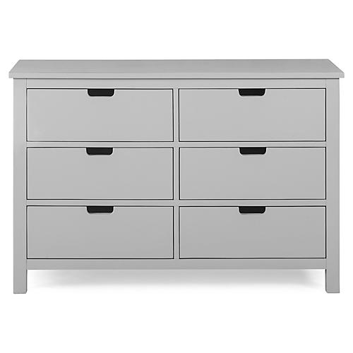 Nesto Kids' Double Dresser, Gray