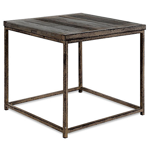 Anton Side Table, Driftwood