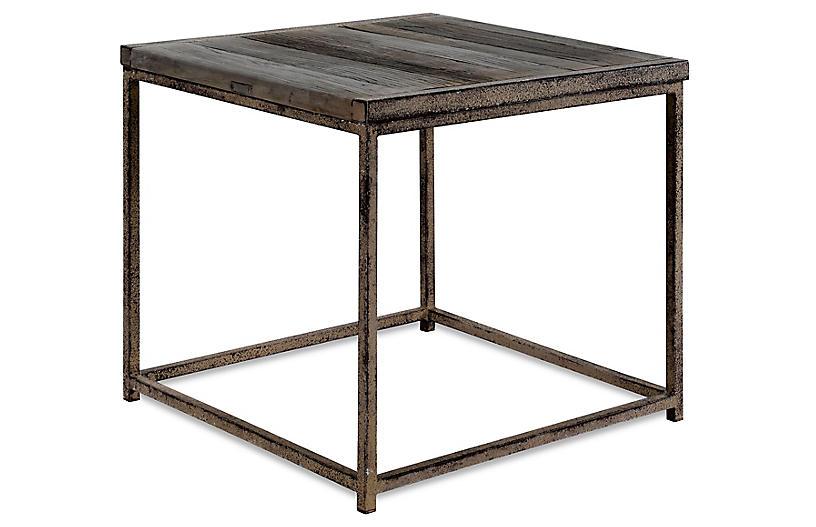 Anton Side Table, Driftwood