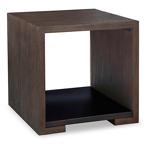 Dalton Side Table, Nutmeg