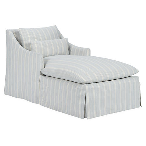 Everett Chaise, Blue/White