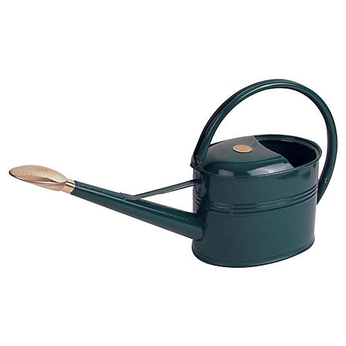 "25"" Grove Slim Watering Can, Green"