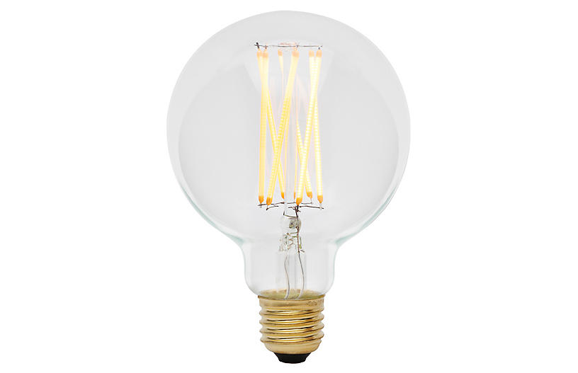 6W Elva LED Light Bulb, Clear
