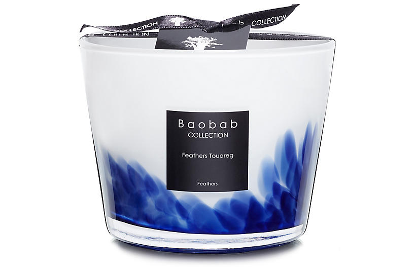 Feathers Touareg Candle, Mint & Jasmine