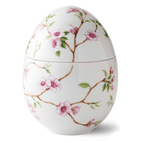 "5"" Cherry Blossom Trinket Box, Pink/Multi"