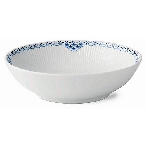 Princess Bowl, White/Blue