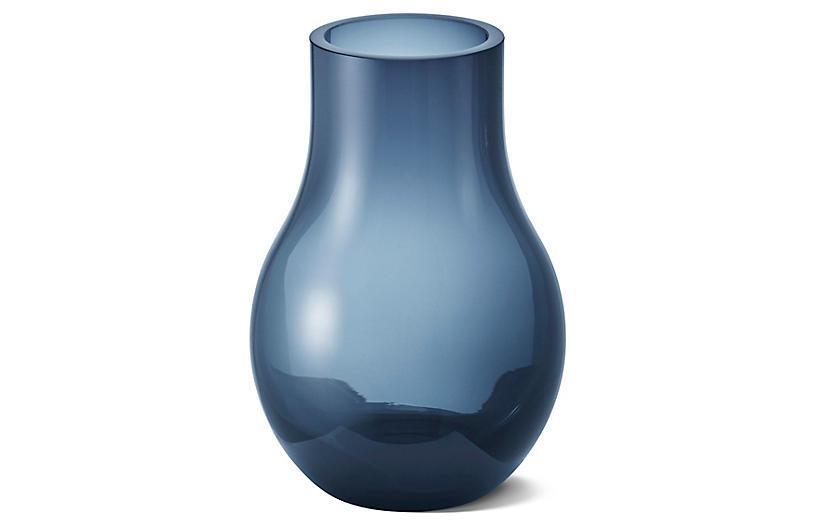 Cafu Vase, Blue