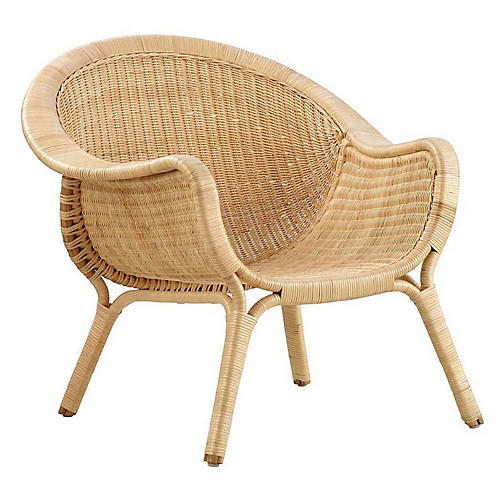 Madame Outdoor Chair, Natural