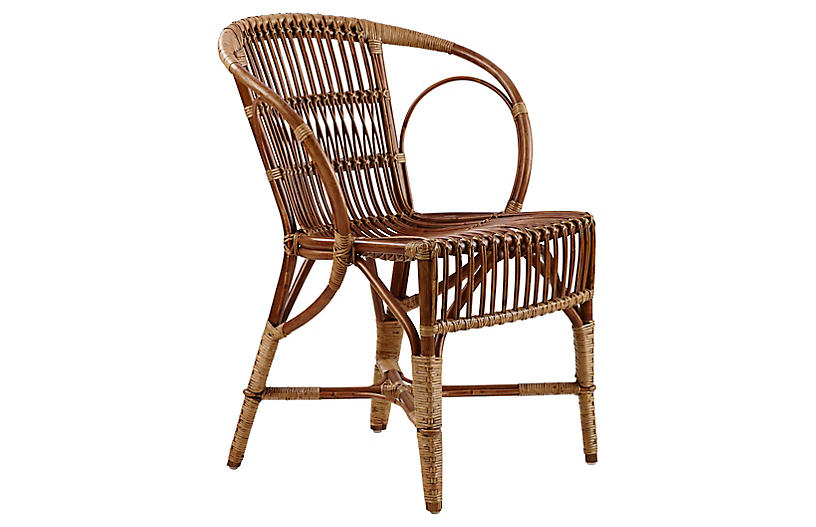 Wengler Chair, Polished Antique