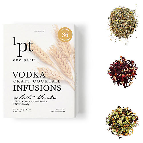 Vodka Cocktail Infusions, Natural