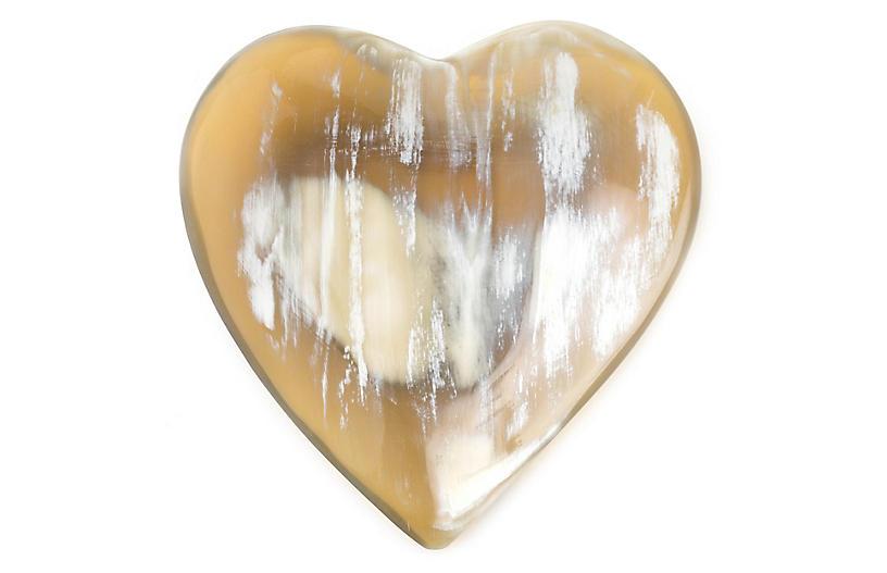 Heart Dish, Natural