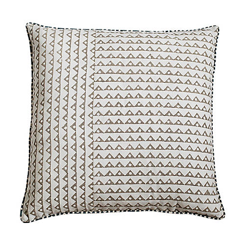 Koyota 22x22 Pillow, Ash Linen
