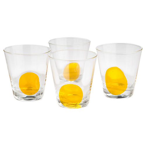 S/4 Iris DOF Glasses, Yellow/Clear