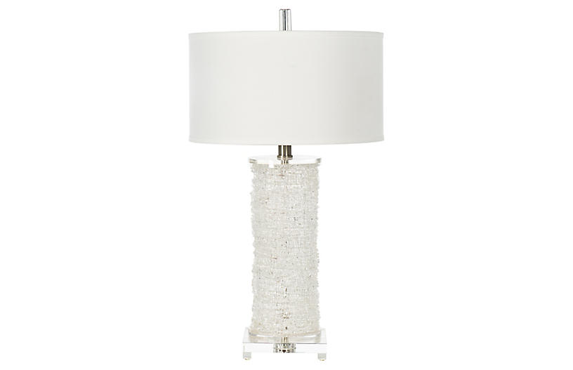 In the Air Table Lamp, White