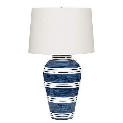 Bimini Table Lamp, Dark Blue