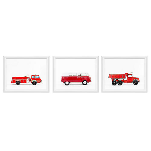 Leslee Mitchell, Service Vehicle Triptych