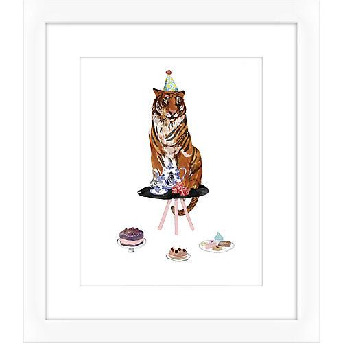 Jaybird Illustration, Tiger II