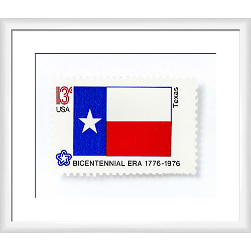 Leslee Mitchell, Texas Stamp