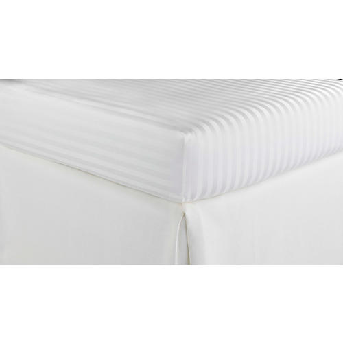 Duet Fitted Sheet, White