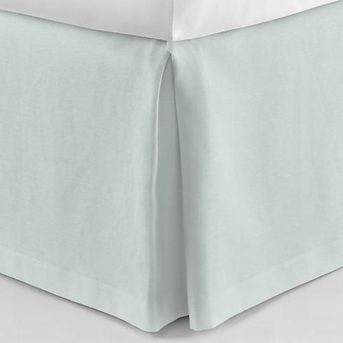 Mandalay Tailored Bed Skirt, Lagoon