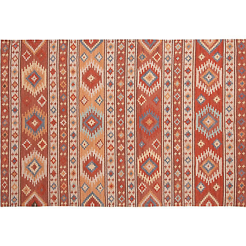 Canyon Handwoven Rug, Cinnamon