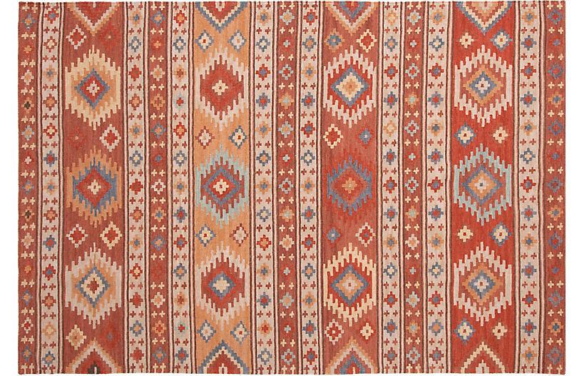 Canyon Handwoven Rug, Cinnamon