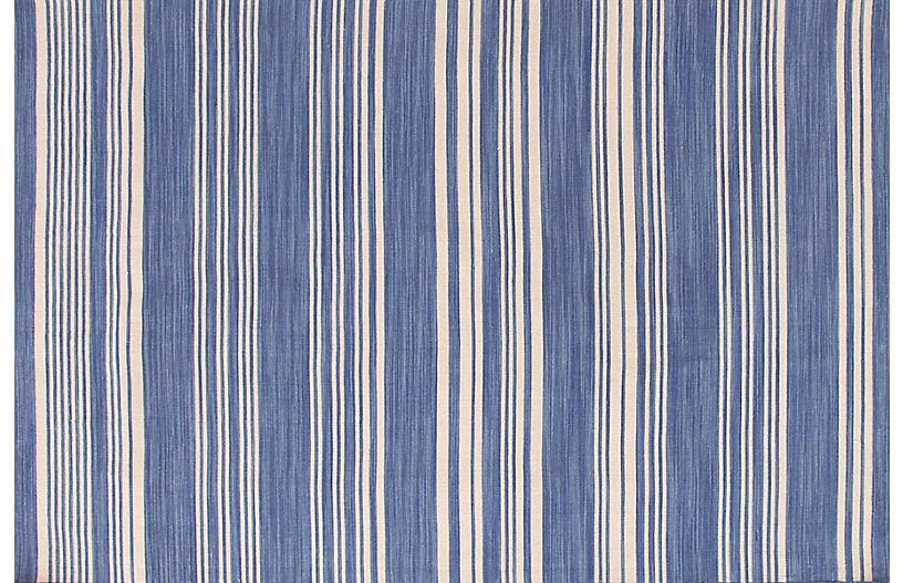 Cottage Stripe Handwoven Rug