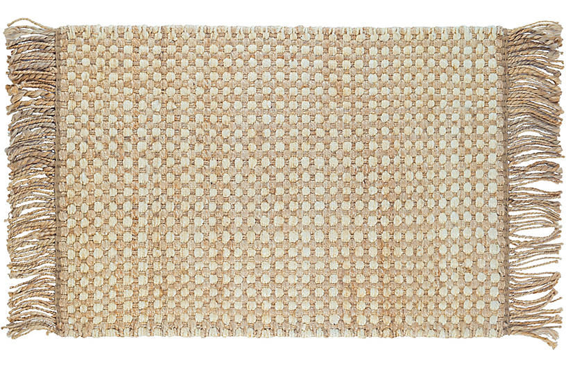 DASH & ALBERT - Kuba Jute Rug, Natural