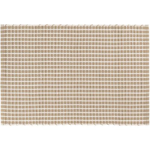 Gridiron Indoor/Outdoor Rug, Wheat