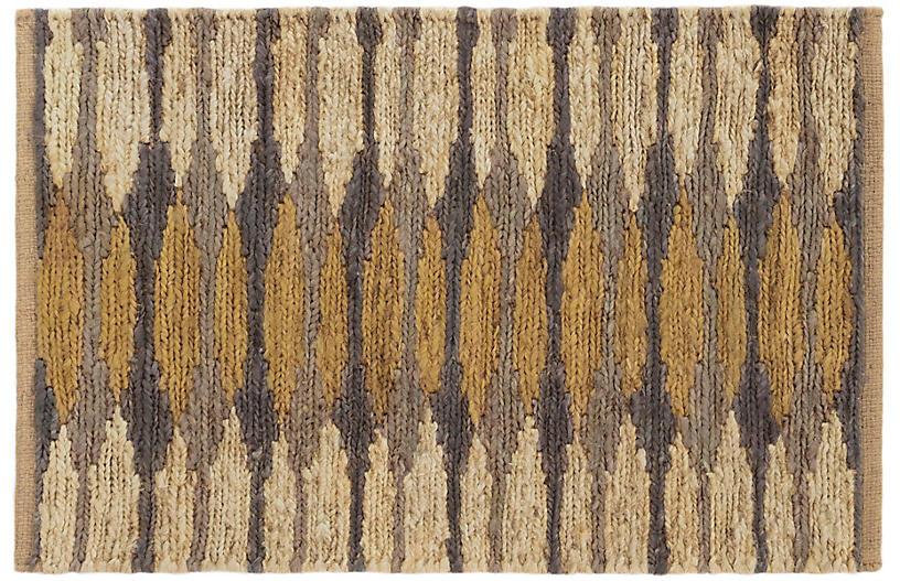 Snapdragon Jute Rug, Natural/Oak