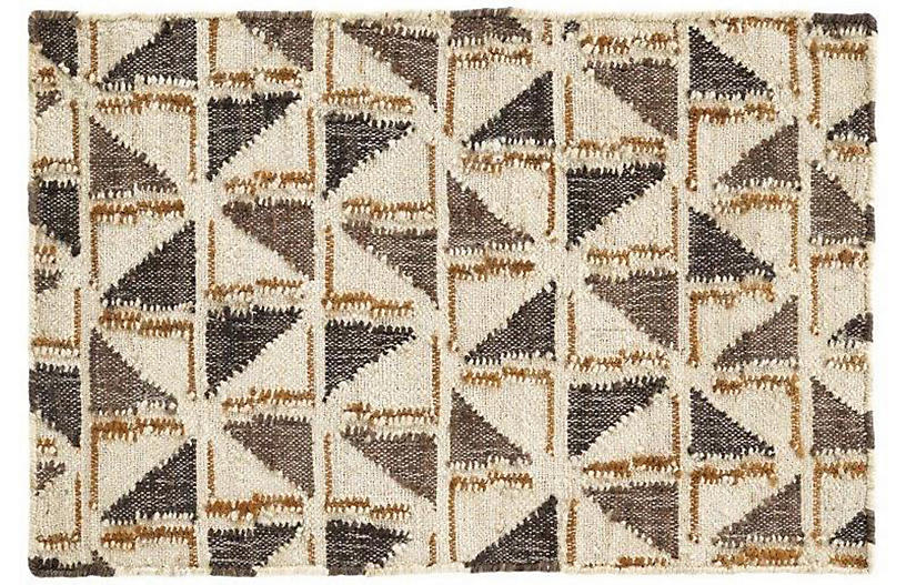 Loki Woven Jute Rug, Brown/Neutral