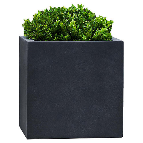 "18"" Farnley Outdoor Planter, Lead"