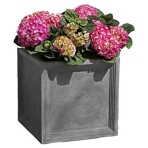 Sandhurst Outdoor Planter, Lead