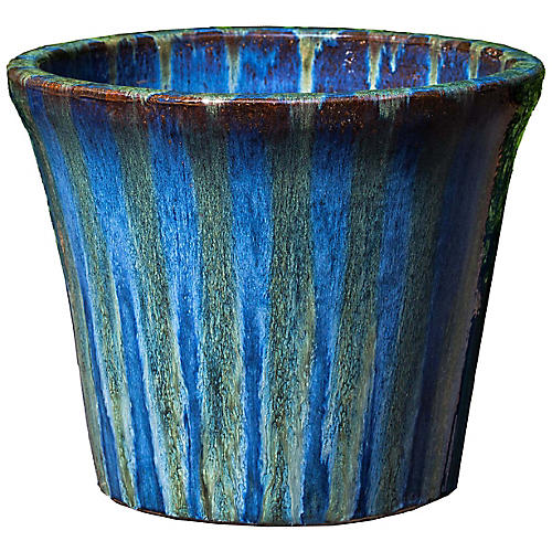 Delphine Planter, Maui Blue