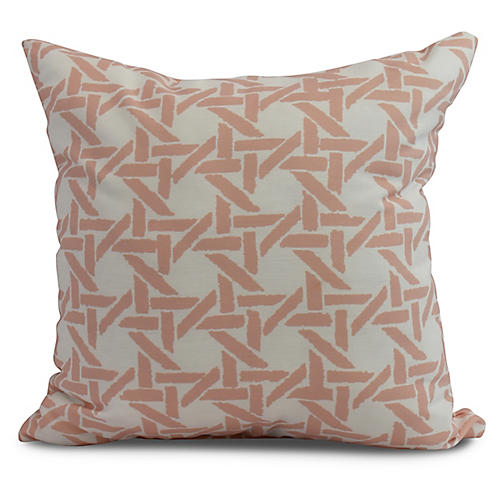 Sugarcane Pillow, Orange
