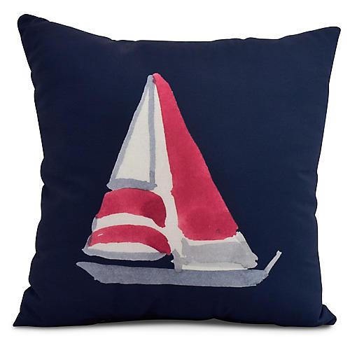 Schooner Pillow, Navy