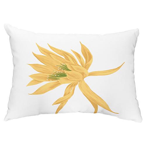 Bloom 14x20 Lumbar Pillow, Yellow