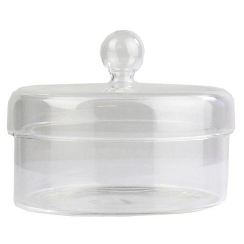 Arora Small Jar, Clear