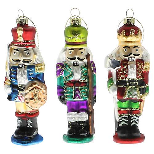 Asst. of 3 Nutcracker Ornaments, Multi