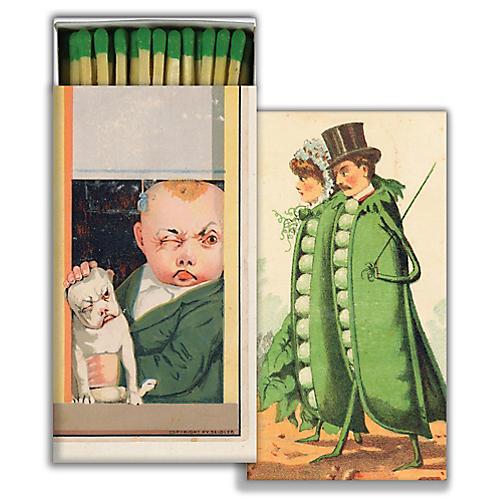 The Peapod Match Set, Green
