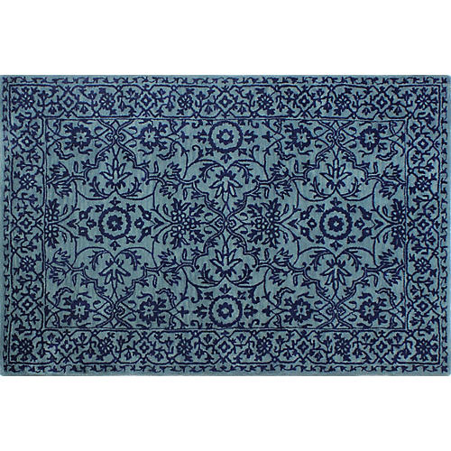 Wilkins Rug, Blue