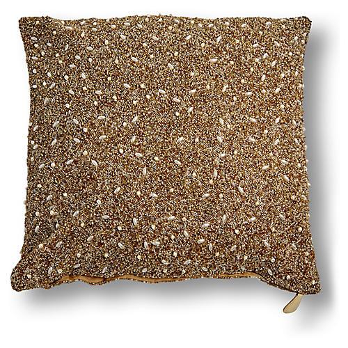 Manda 20x20 Pillow, Gold