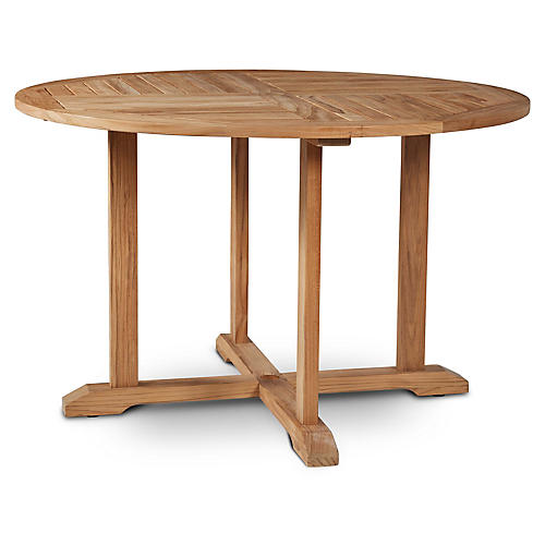Curtis Dining Table, Natural