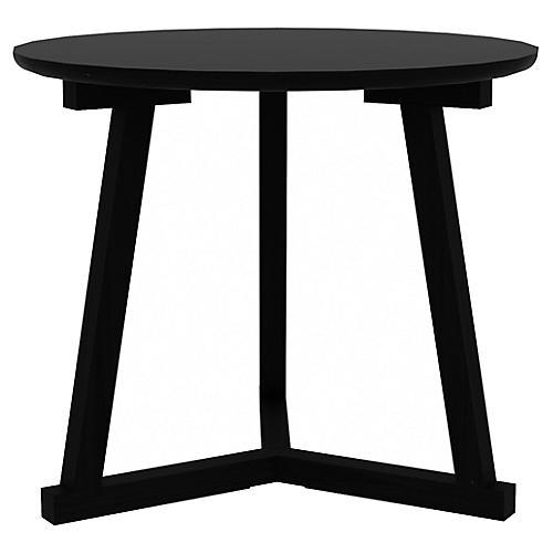 Tripod Side Table, Black