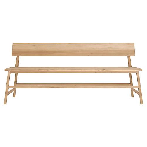 N3 Bench, Oak