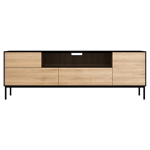 Blackbird Media Console, Oak