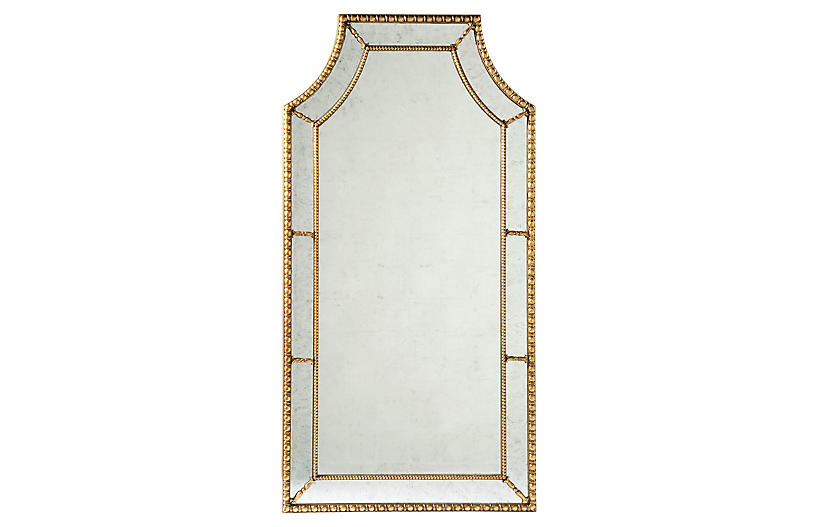 Straffordshire Mirror, Gold